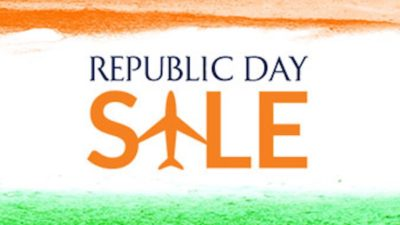30% Off Discount Republic Day SALE on Jet Airways