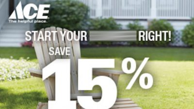 Upto 15% Off Discount Promo Code at Ace Hardware