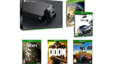 Xbox One X plus 5 games only £469.99