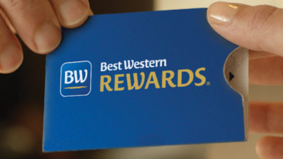 2000 BONUS Points at Best Western Hotels