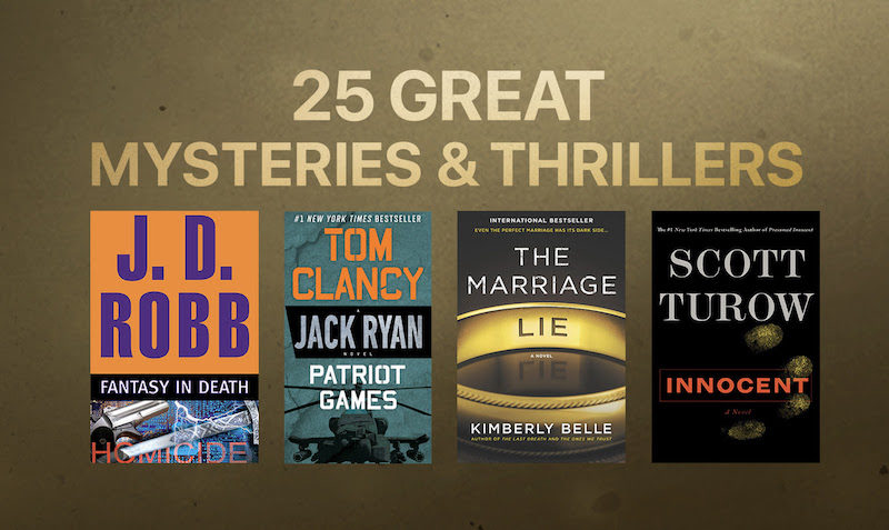25 Electrifying Mysteries & Thrillers- $3.99 or Less itunes