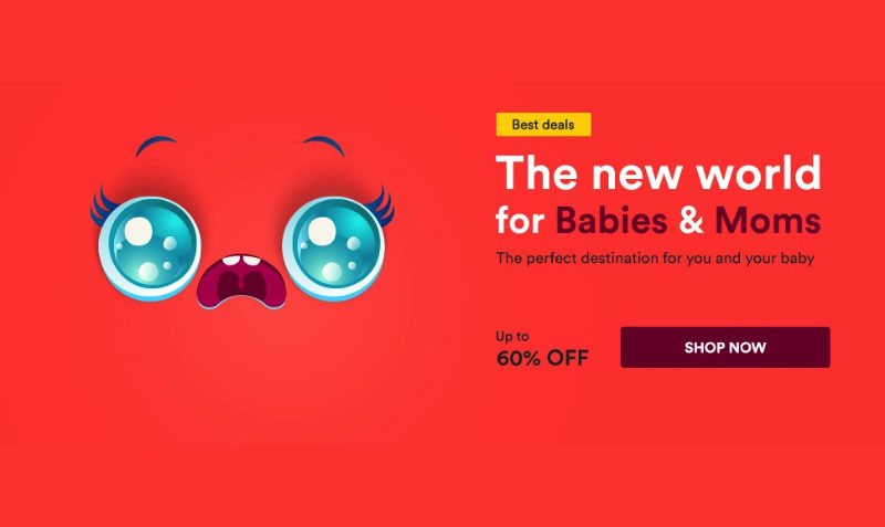 60% Off Babies and Moms SALE at SOUQ Egypt