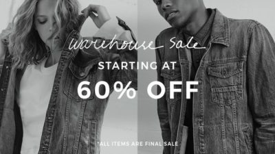 7Fam's Warehouse Sale - Items Starting at 60% Off