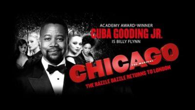 Cuba Gooding Jr at Chicago London at Ticketmaster