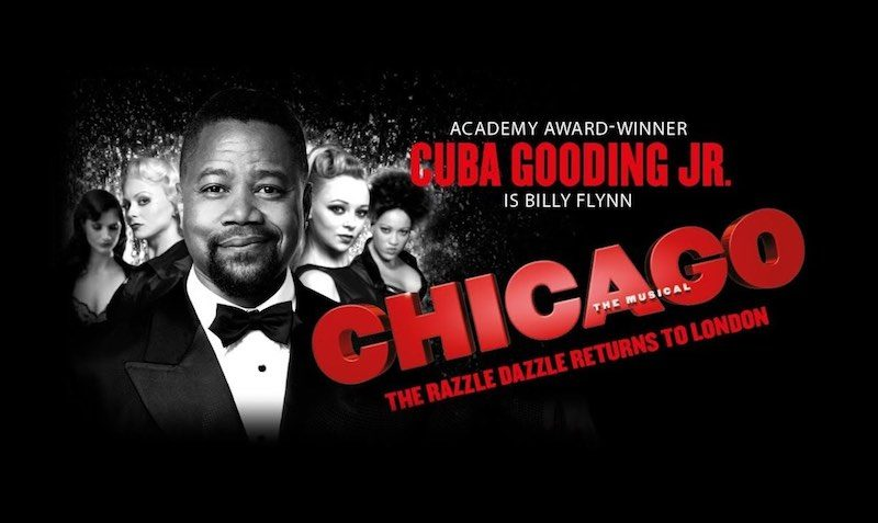 Cuba Gooding Jr at Chicago London at Ticketmaster
