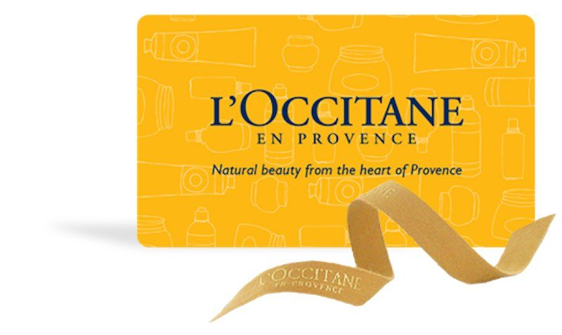 FREE Giftcard with Purchases at L'Occitane en Provence