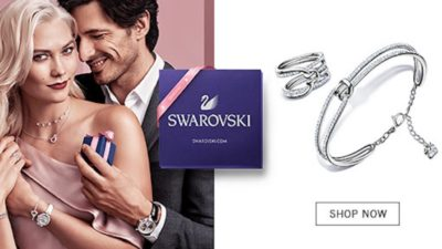FREE Metallic Wallet with Purchases at Swarovski