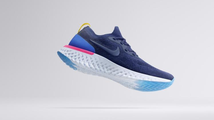 Shop Nike.com for the new Nike Men's Epic React Flyknit Running Shoe.