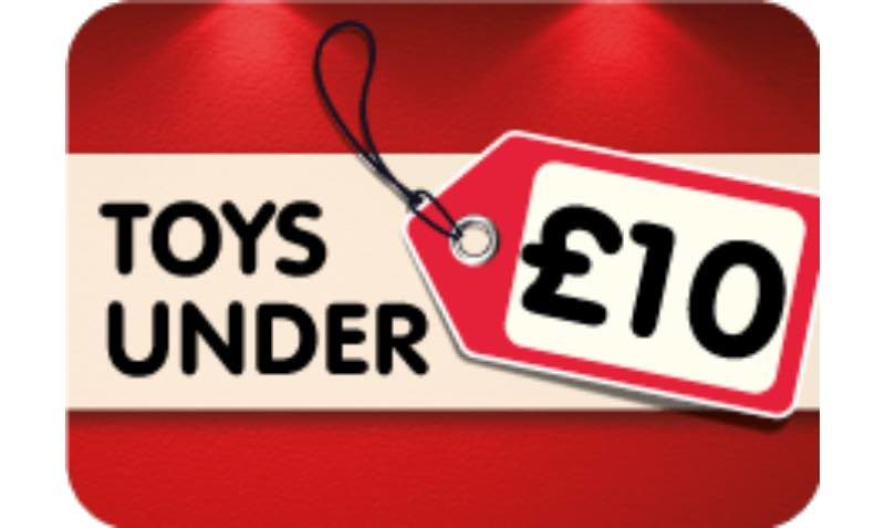 Toys Under £10 SALE at The Entertainer Toy Shop
