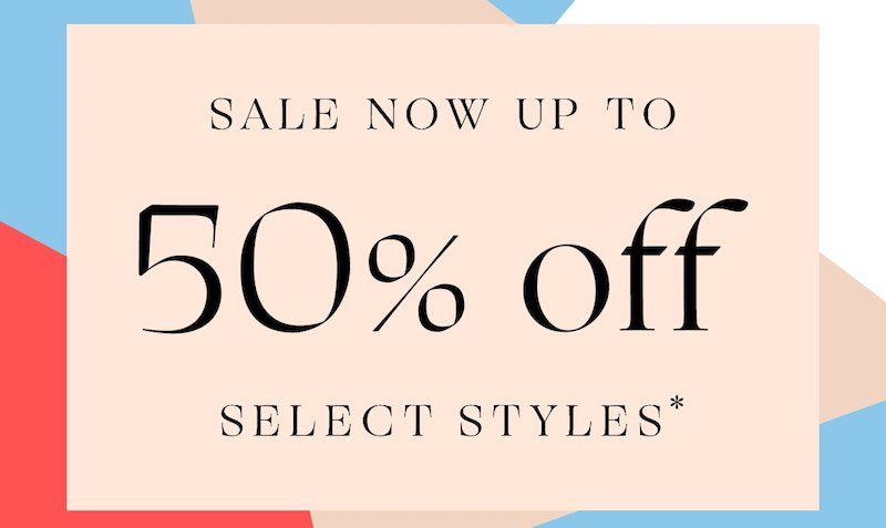 Up to 50% OFF SALE at Rebecca Minkoff