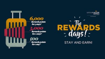 Upto 6000 Reward Points at Accor Hotels