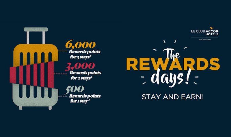 Upto 6000 Reward Points at Accor Hotels