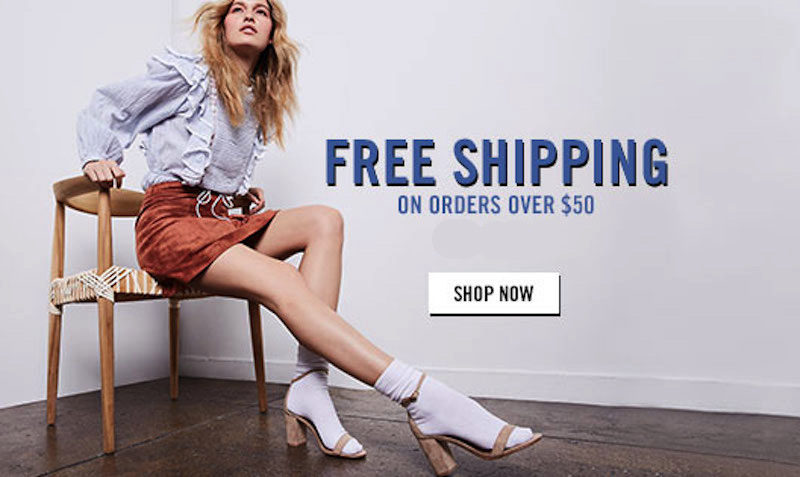 free shipping steve madden code