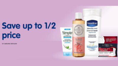 50% off SALE on Selected Skincare at Boots
