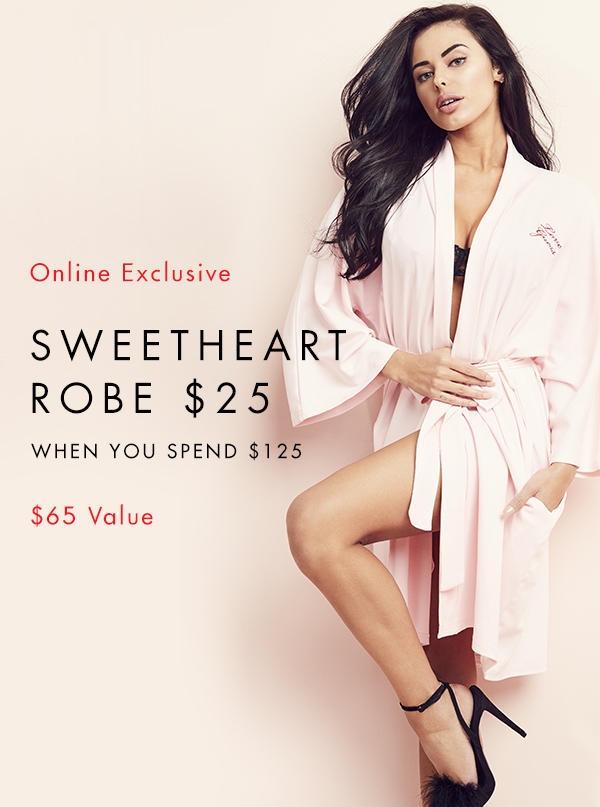 valentine robe guess.com