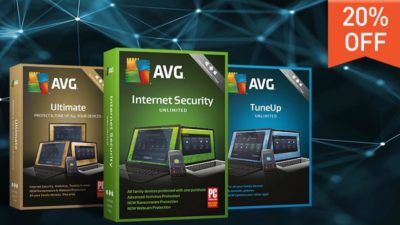 20% Off Discount Coupon at AVG