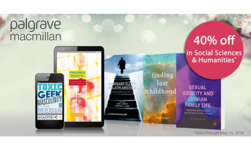 Discount Coupon at Palgrave Macmillan