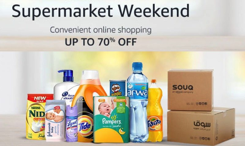 70% Off Supermarket Weekend SALE at Souq.com UAE