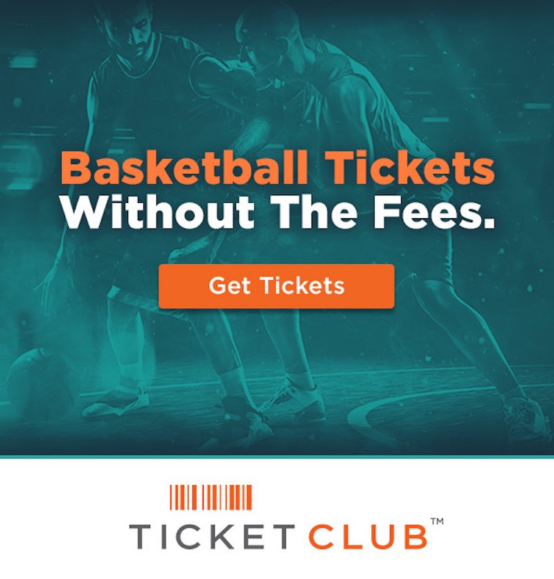 Basketball DEALS at TicketClub Banner