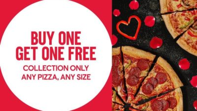Buy One Get One Free at Domino's Pizza