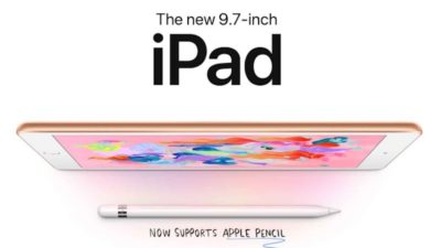 Enjoy a free $25 E-Gift Card when you pre-order the new 9.7 inch iPad through Friday 3/29.