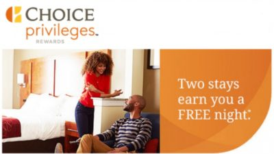 FREE Night DEAL at Choice Hotels