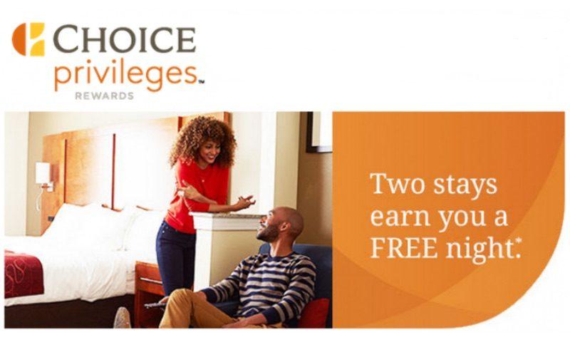 FREE Night DEAL at Choice Hotels