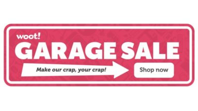 Garage Discount SALE at Woot!