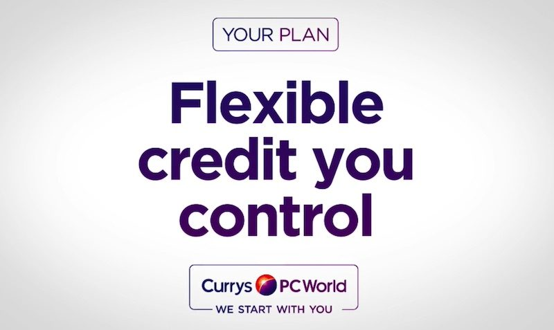 Interest Free Credit Promotion at Currys PC World