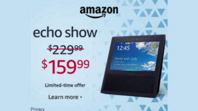 echo amazon sale