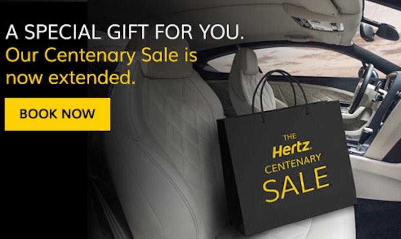 $50 Hotel Gift Card Promo Code On Car Rentals At Hertz