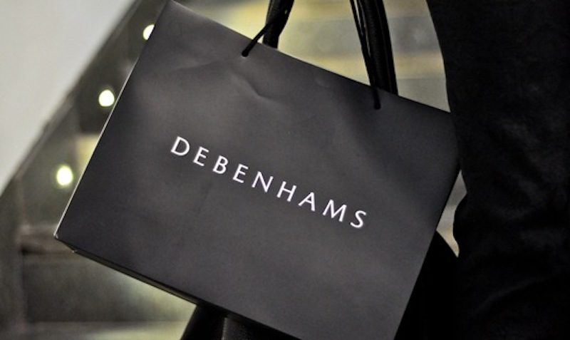 10% off when you spend £50 debenhams