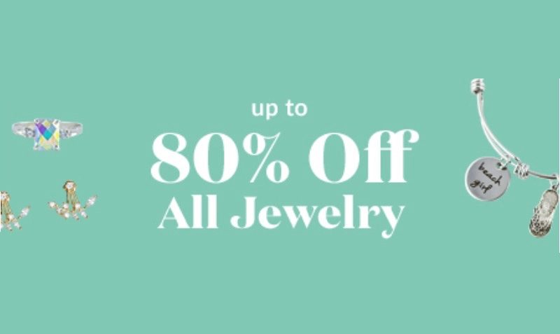 80% off All Jewelry at OpenSky