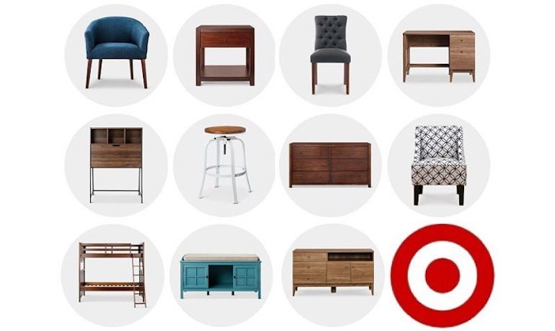 Save an extra 15% off furniture Sunday and Monday with code at Target