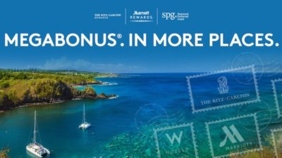 Upto 2000 MegaBonus Points at Marriott Hotels