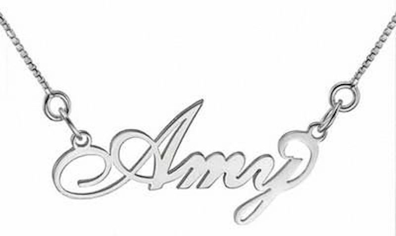 ZALES Script Name Necklace Starting At $19.99