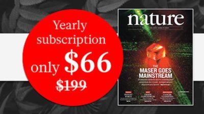 Discount SALE on Subscription at Nature