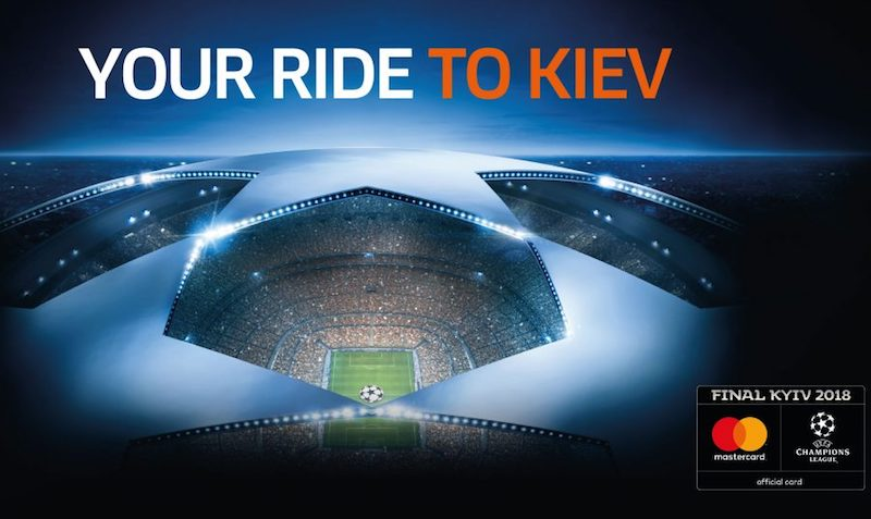 Ride your way to the UEFA Champions League Final Kiev 2018