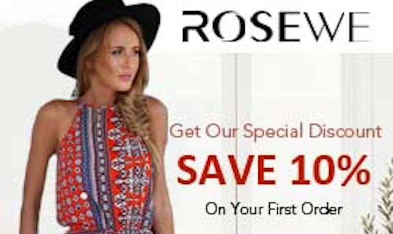 Discount Coupon at RoseWe