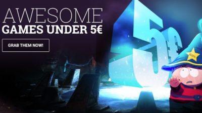 GAMES UNDER €5 at G2A.com