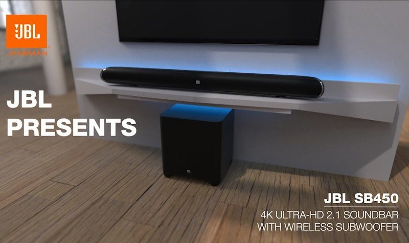 JBL 3.1-Channel 4K Ultra HD Soundbar