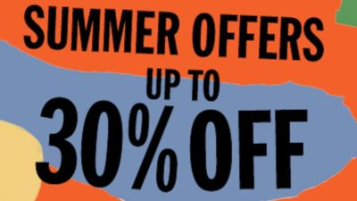 Up to 30% Off SALE at Urban Outfitters in Europe
