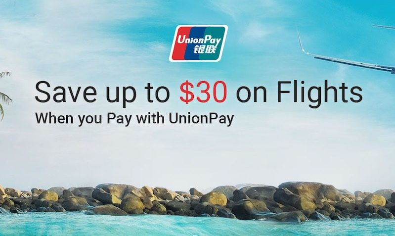 $30 Off Flights Discount SALE at Trips.com with UnionPay