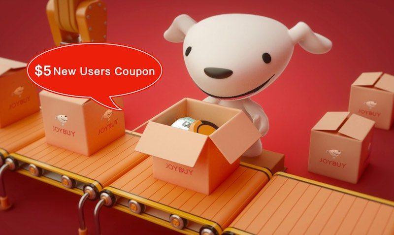 $5 Off Discount Coupon at Joybuy.com