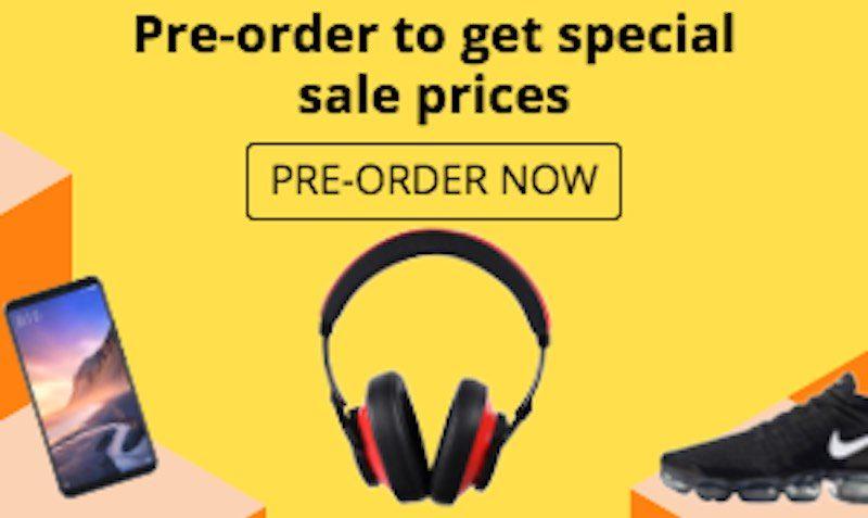 AliExpress Brands Shopping Week Pre-order Sale!