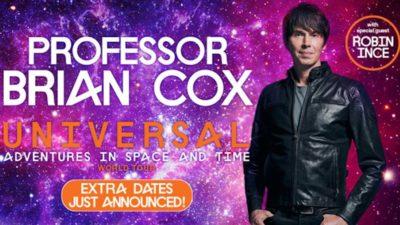 Professor Brian Cox Ticketmaster UK