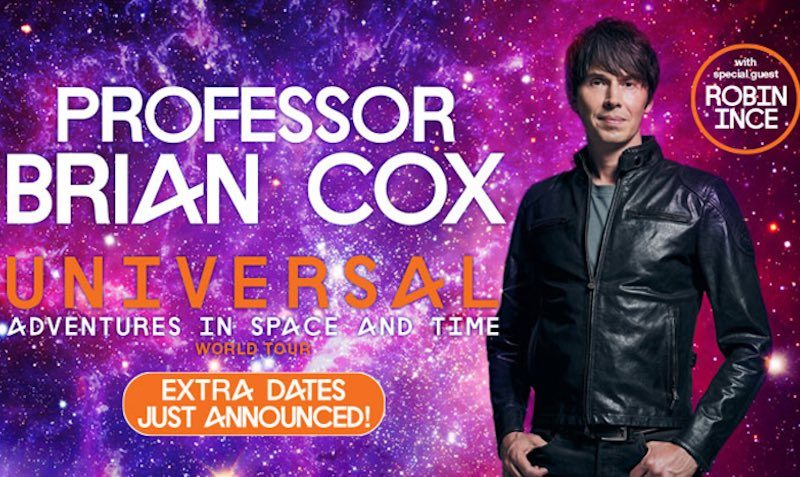 Professor Brian Cox Ticketmaster UK