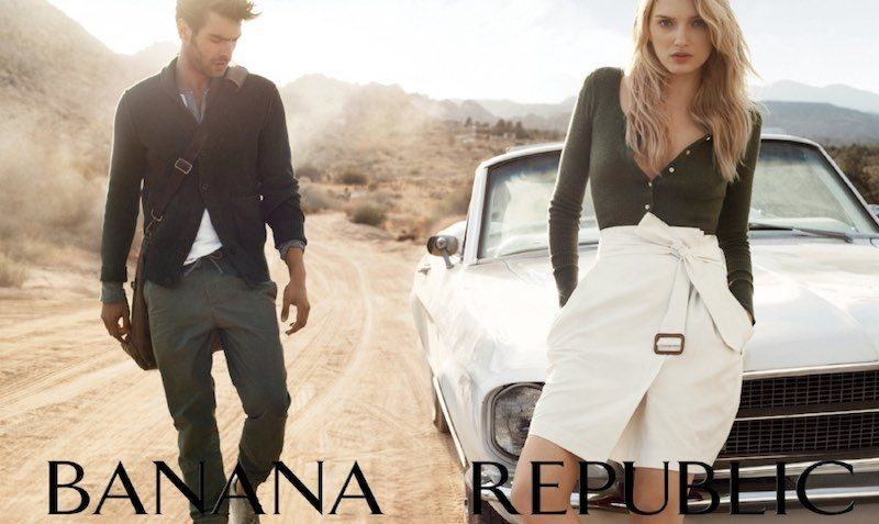 20-25% off regular-priced styles at Banana Republic Europe