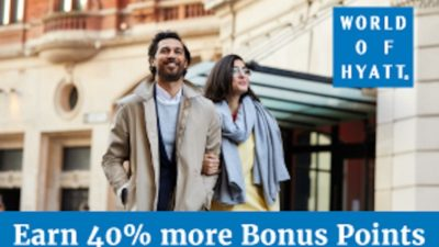 40% Off BONUS Hyatt Gold Passport Points at Points.com