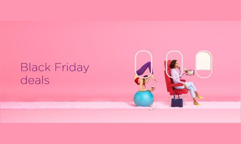 Black Friday SALE on Virgin Atlantic Flights